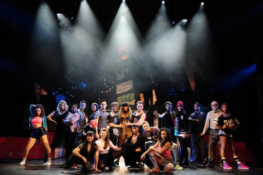 The full cast. Photo © Fame the Musical