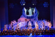 Let it Go in Snow Tales. Photo Glenda Robertson from Gang Show 2014