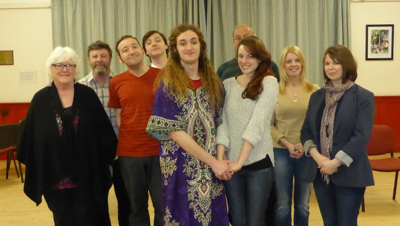 Tartuffe Cast In Rehearsal Photo John McLinden