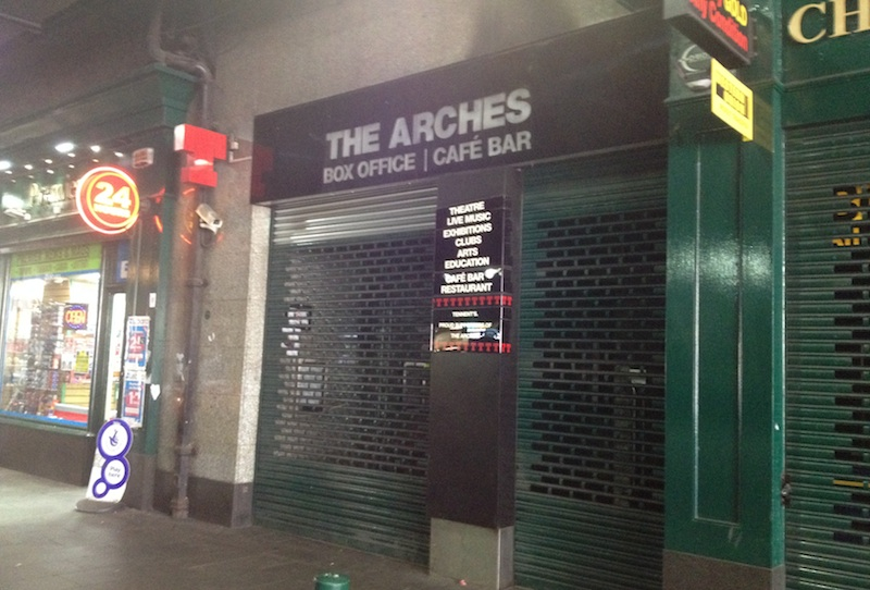 The Arches Entrance