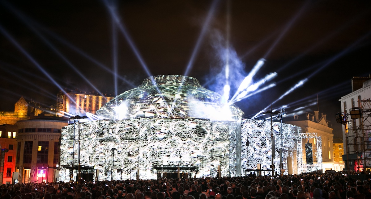 The Edinburgh International Festival 2015 opens with The Harmonium Project, a free outdoor event celebrating the 50th anniversary of the Edinburgh Festival Chorus