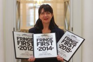 Trilogy's trio of Fringe Firsts