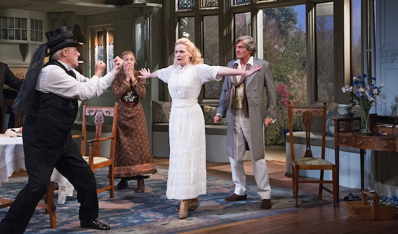 A scene from The Importance Of Being Earnest Photo Tristram Kenton tristram@tristramkenton.com