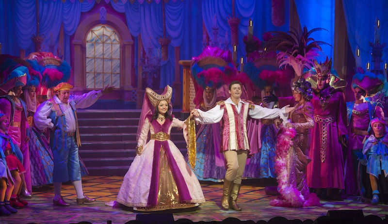 Finale with Snow White and Prince Hamish Photo by Douglas Robertson