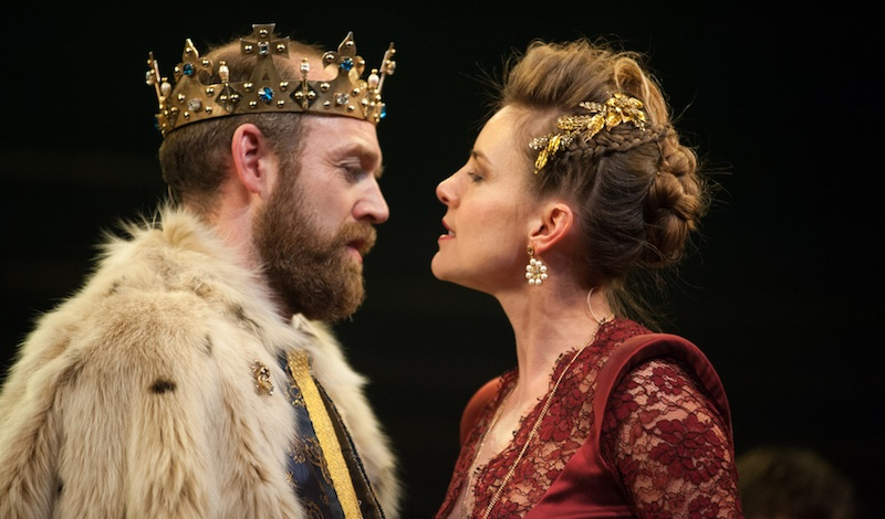 James III Matthew Pidgeon (James III) & Malin Crépin (Queen Margaret) Photo Tommy Ga-Ken Wan