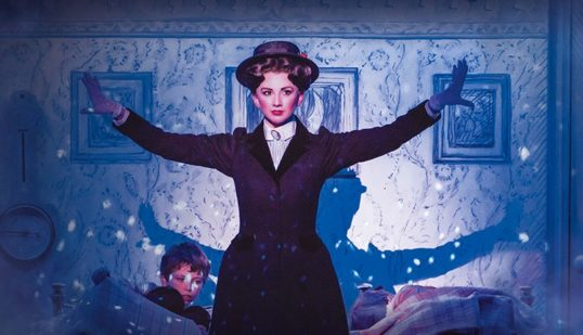 Playing The Game - Zizi Strallen as Mary Poppins. Photo: Johan Persson