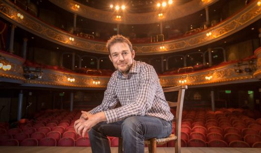 David Greig, Artistic Director of The Lyceum. Photo: Aly Wight