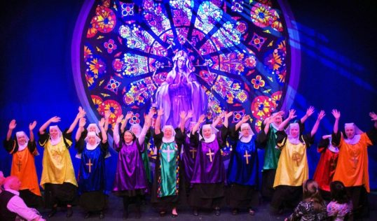 The Cast of Sister Act. Photo: Encore