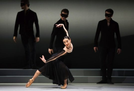 Sophie Martin (Odile). Photo: Andy Ross