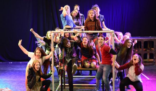 The Cast of American Idiot. Photo Shoogly Peg Productions