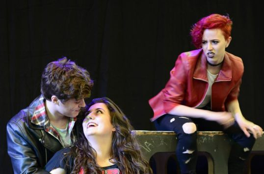 A scene from American Idiot. Photo - Shoogly Peg Productions