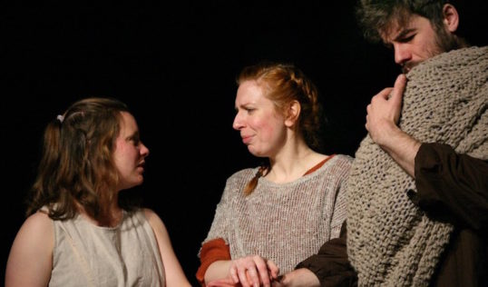 Alison McFarlane, Elspeth Turner and David Rankine. Photo: Leslie Black