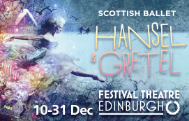 Click here to book for Hansel & Gretel at the Festival Theatre in December