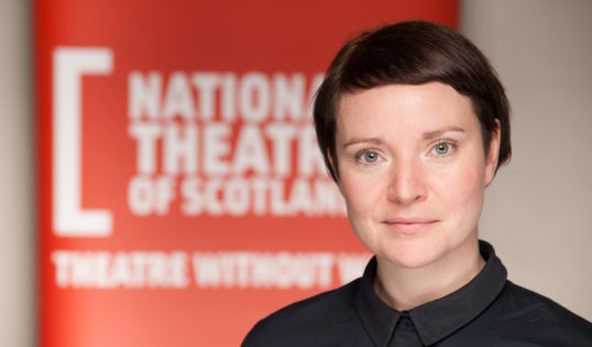 Jackie Wylie, newly-appointed Artistic Director of the National Theatre of Scotland. Photo Christopher Bowen.jpg