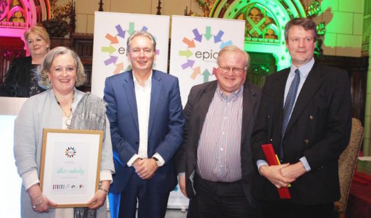 Epic Awards 2016 Scotland winners – alter:nativity. Photo: Voluntary Arts