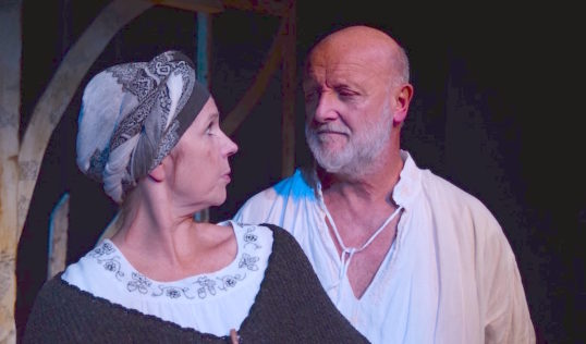 Sally Edwards and Philip Whitchurch. Photo Bated Breath