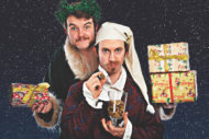 Morgan & West: A (sort of) Christmas Carol Magic Show