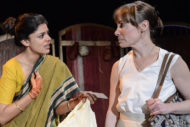 Ulrika Krishnamurti (Aditi) and Gina Isaac (Eva). Photo Robert Day