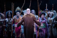 Les Dennis as Fester with the Ancestors.