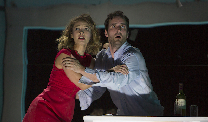 Rhinoceros – Edinburgh International Festival L-R Ece Dizdar, Robert Jack © Beth Chalmers