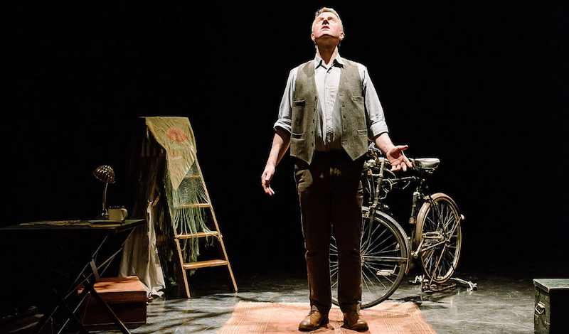 Richard Medrington in Leaf by Niggle, April 2016, Puppet State Theatre Company. Photo credit Brian Hartley.