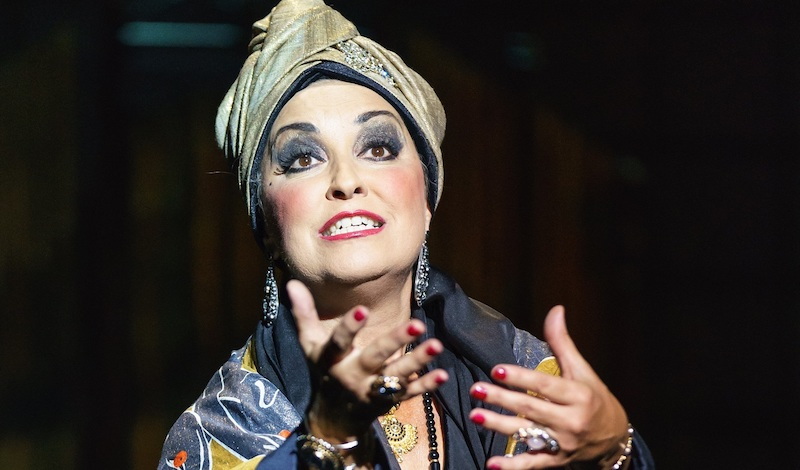 Ria Jones as Norma Desmond in Sunset Boulevard Pic Manuel Harlan