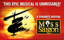 Click here to book for Miss Saigon at the Festival Theatre in January