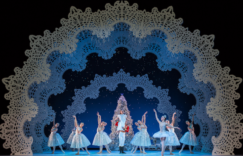 Scottish Ballet – The Nutcracker – The Land of Frost and Snow Pic Andy Ross