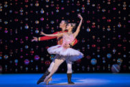 Sophie Martin and Christopher Harrison - V2 in Scottish Ballet's The Nutcracker - Picture by Andy Ross