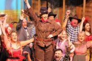 Jenna Lee and the Calamity Jane ensemble. Pic: MAMA