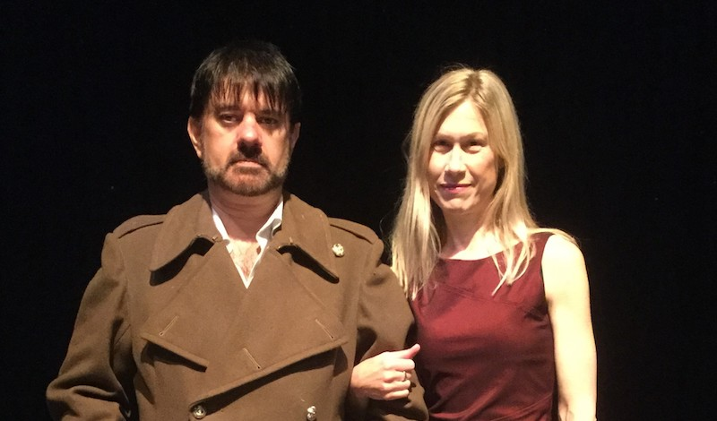 Jacques Kerr and Rhiannon King. Pic EGTG 2