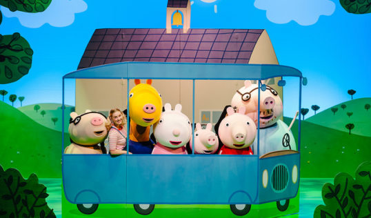 Peppa Pig's Adventure cast - off on an adventure
