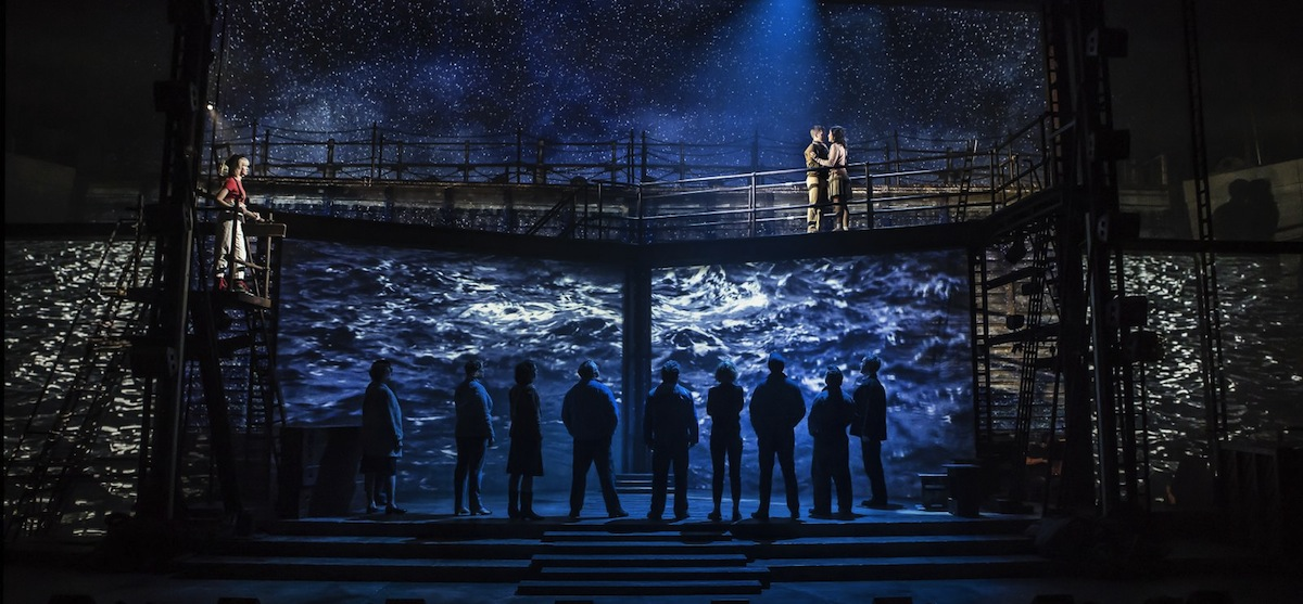 The Last Ship projections by 59 Productions (c) Pamela Raith