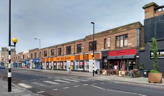 The Leith Walk Block under threat. Pic: Save Leith Walk campaign