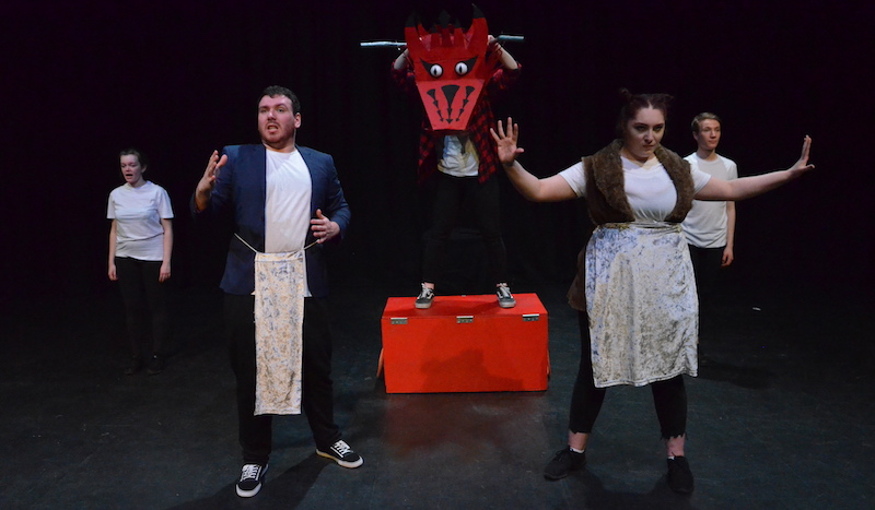 A preview performance of Monster in the Hall from Capsize Collective. Pic Capsize Collective