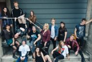 The cast of EU Footlight's American Idiot. Pic: EU Footlights