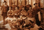 The Hearts team of 1914-15