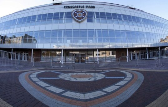 Tynecastle New Stand, which will host a play during this year's fringe.