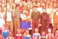 The Wizard of Oz principal cast. Pic Beyond Broadway Productions.