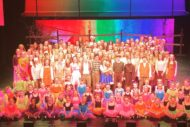 The cast of The Wizard of Oz. Pic Beyond Broadway Productions.