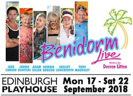 Click here to buy tickets for Benidorm at the Playhouse