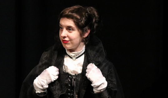 Some Kind of Theatre Twelfth Night EdFringe 2018 Olivia Cinzia DuBois. Pic SKO Theatre