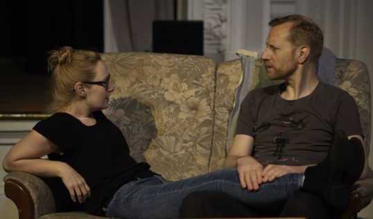 You Remind Me of You Arkle EdFringe 2018 Kerri Clarence and Jamie Stewart. Pic: Arkle Theatre Company