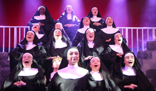 Forth Childrens Theatre EdFringe 2018 Sister Act The Sisters of Sister Act. Pic: Mark Gorman
