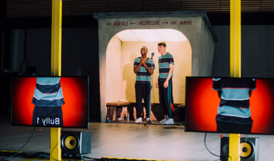 The End of Eddy Unicorn Theatre and Untitled Projects for the EIF. Kwaku Mill and Alex Austin. Pic: Ryan Buchanan