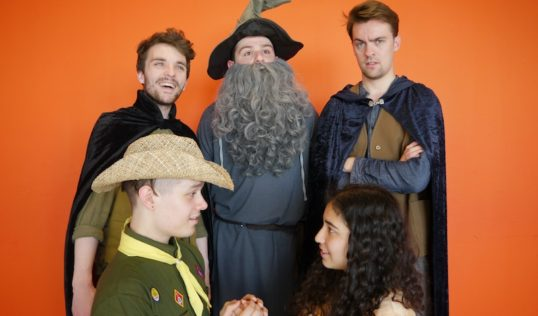 The Fellowship. Pic Broadsword Theatre