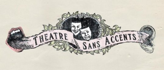 Theatre Sans Accents logo