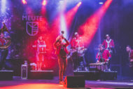 German techno-marching band Meute will be appearing and orchestrating the Bells. Pic:  Jennifer Schmid