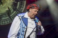 Andy Gray as Buttons in last year's panto - Cinderella. Pic: Douglas Robertson
