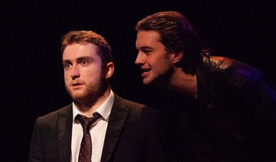 Cyprus Avenue by David Ireland Bedlam Theatre October 2018 Peter Morrison, Jacob Baird. Pic Erica Belton